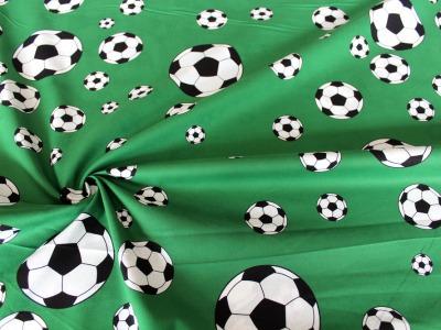 Baumwolle Fussball Fußball grün