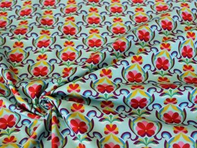 Baumwolle Blumen Ornamente Blumenranken