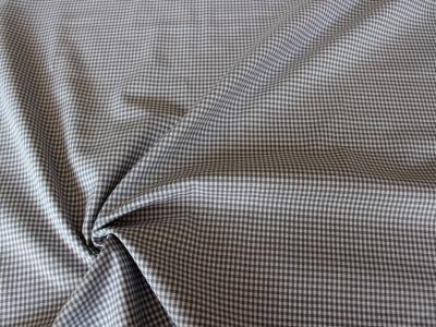 Vichykaro 2mm grau weiß