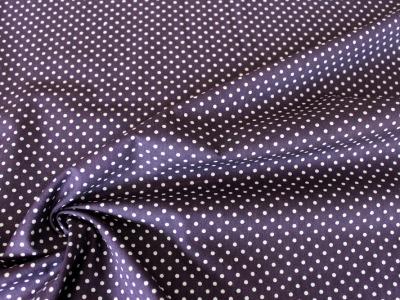 Baumwolle Puenktchen Patchworkstoff Punkte lila