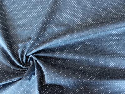 Baumwolle Puenktchen Patchworkstoff Punkte blau