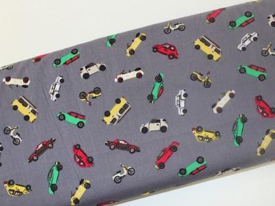 Baumwolle Autos grau