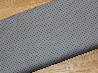 Stenzo Baumwolle Punkte grau auf grau