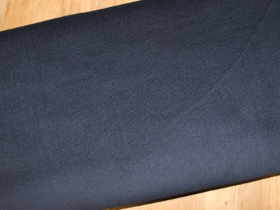 Babycord uni Feincord dunkelblau
