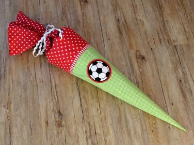 Schultüte Fußball 70cm