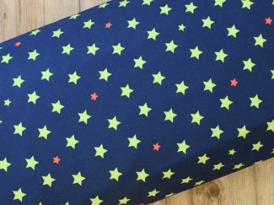 Softshell Sterne dunkelblau