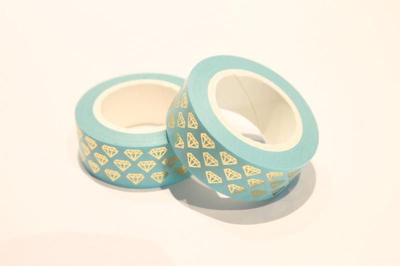 masking tape washi tape goldene diamanten