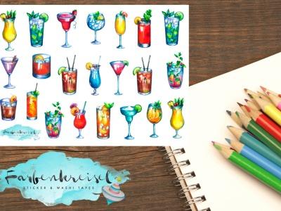 Cocktail Sticker 3