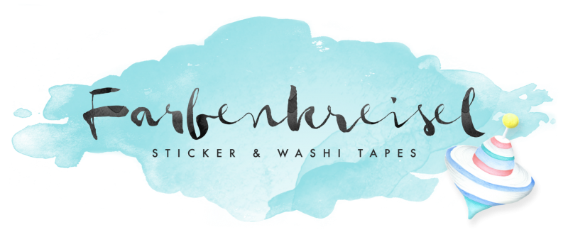 Farbenkreisel - Sticker & Washi Tapes