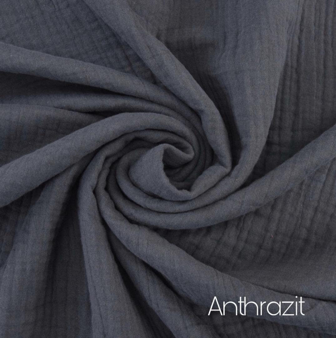 MusselinTuch mit Name in Wunschfarbe Zajaz
