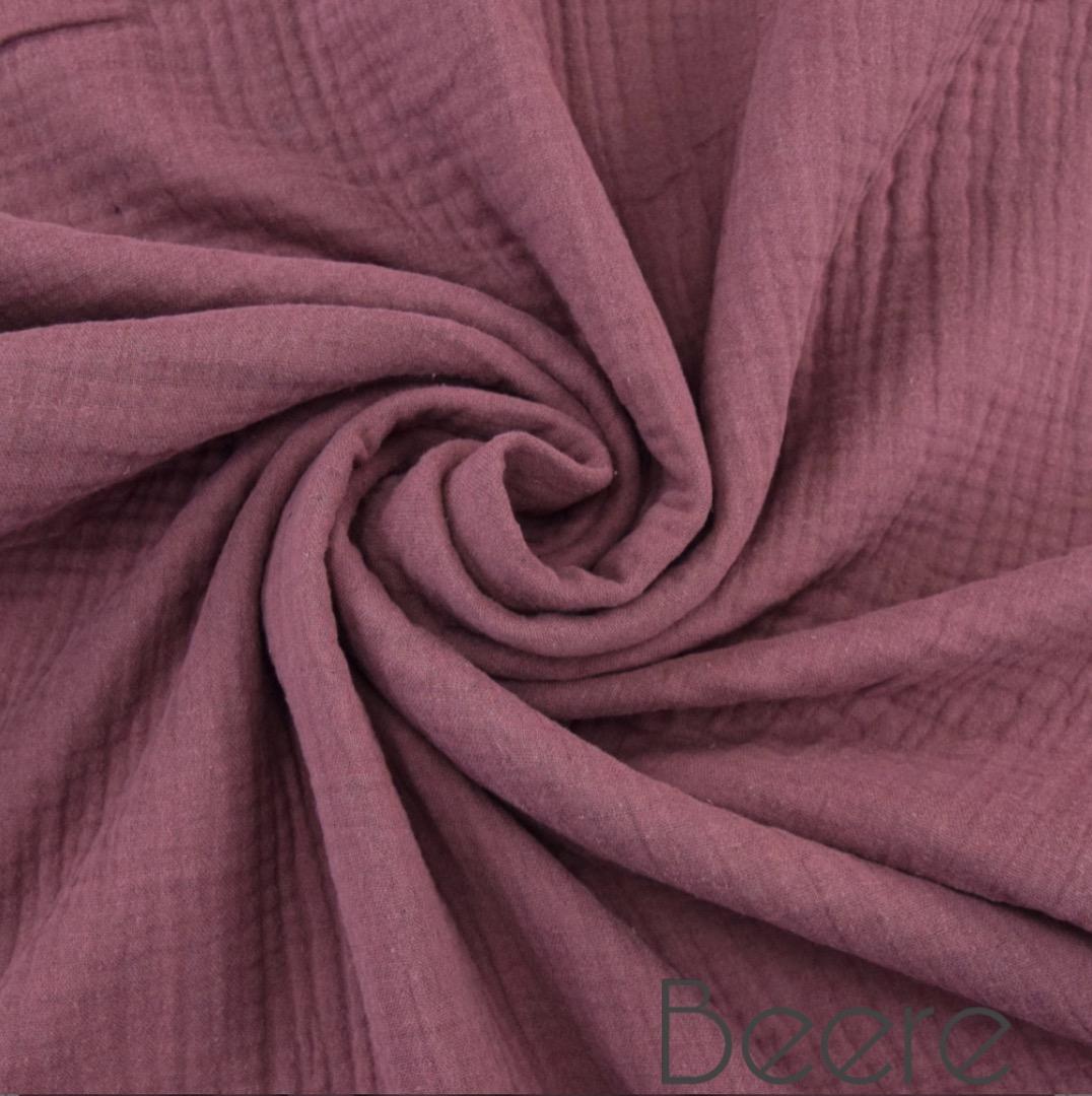 Musselin Decke in Wunschfarbe 5