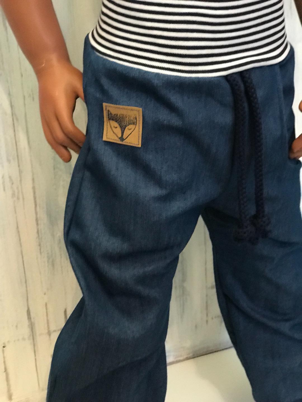 Jeans mit Tasche Zajaz 3