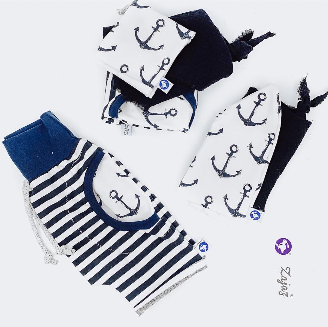 Shorts mit Anker Tasche 2