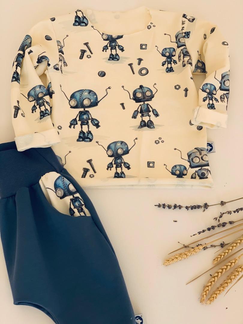 Pullover Crazy Roboter