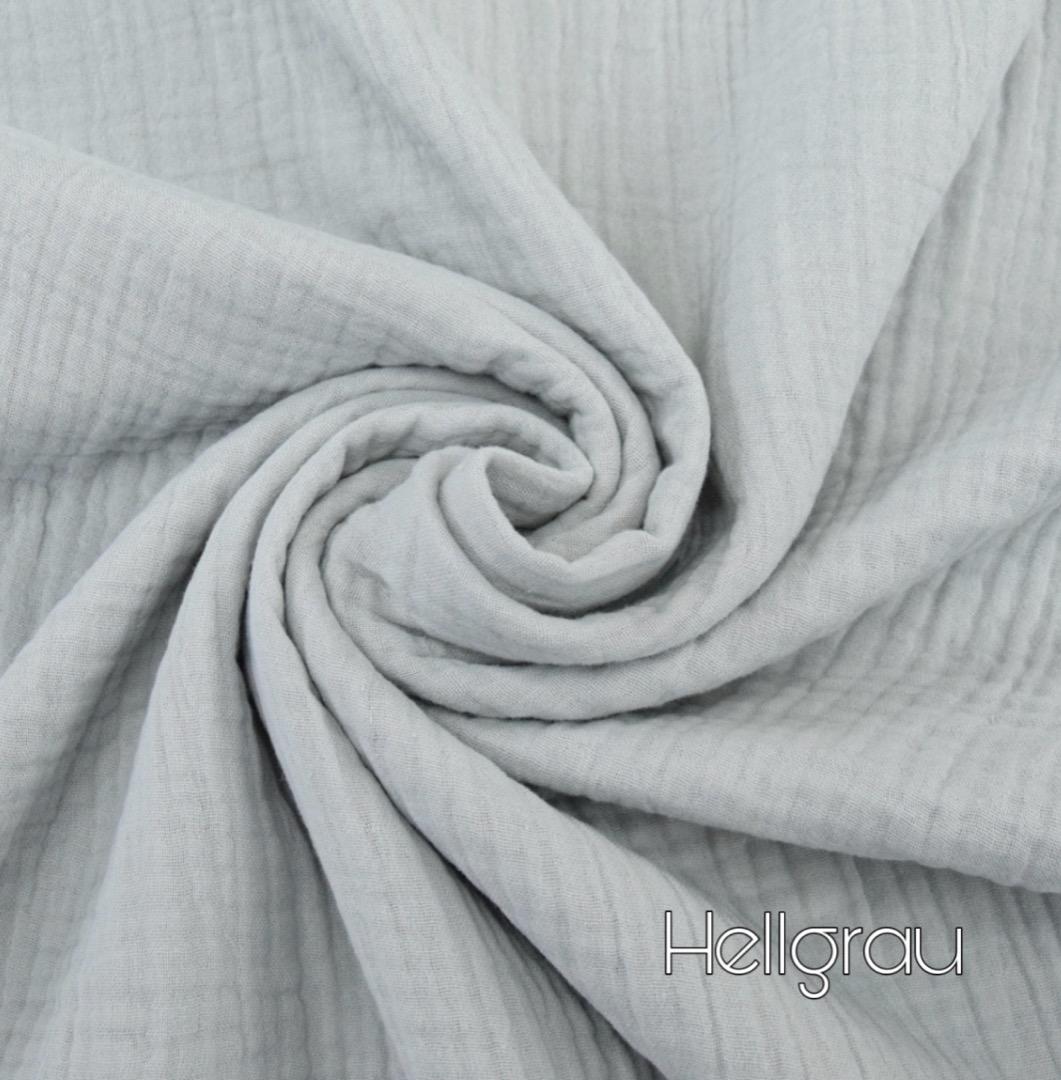 Musselin Decke in Wunschfarbe 9