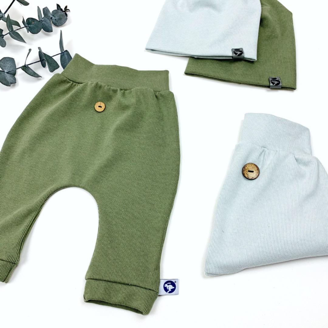 Hose aus Ripp Jersey