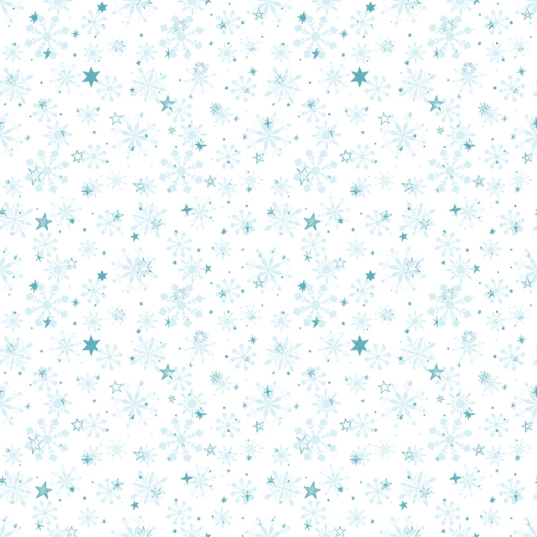 EP Schneeflocken blau