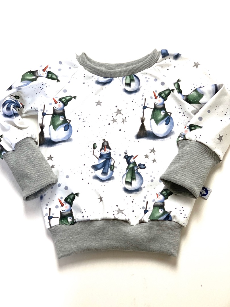 Pullover Snowman mit mitwachsbündchen