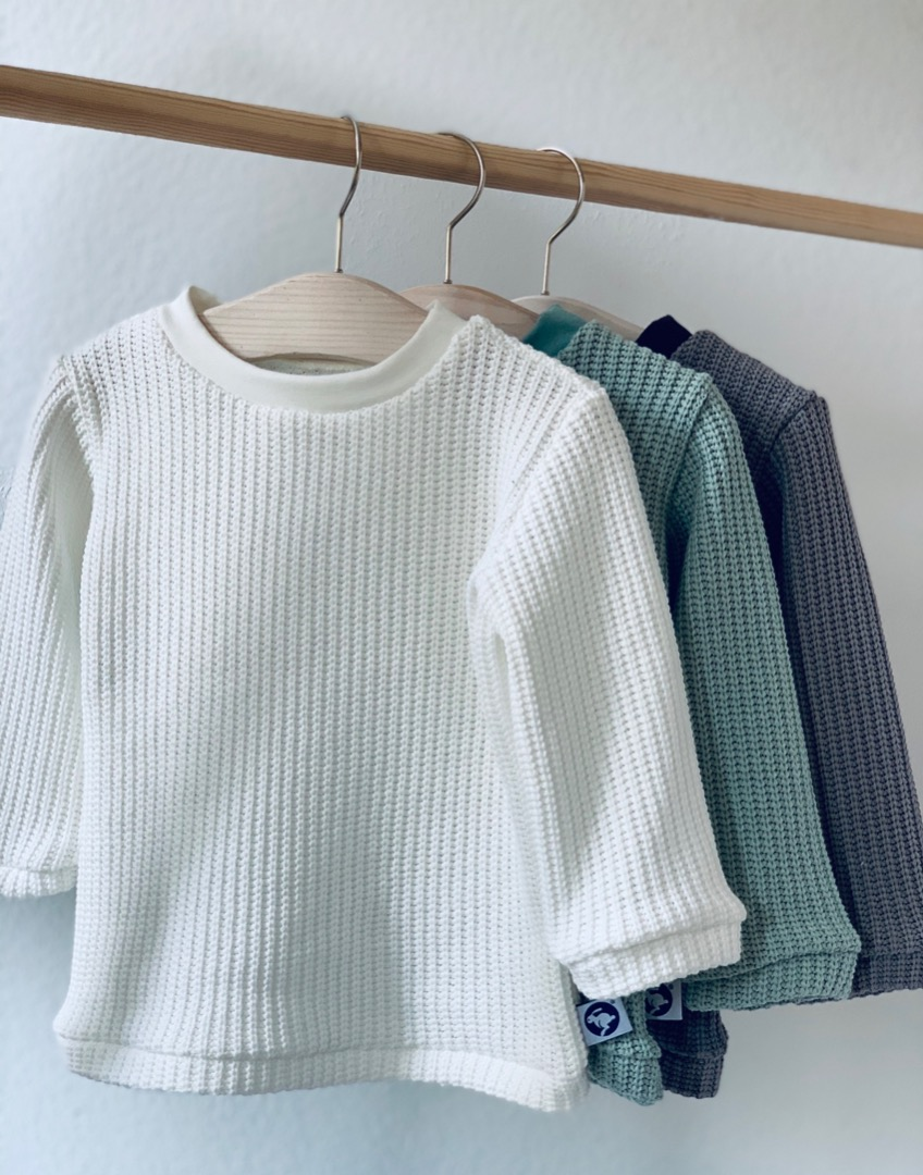 Strick Pullover in wunschfarbe
