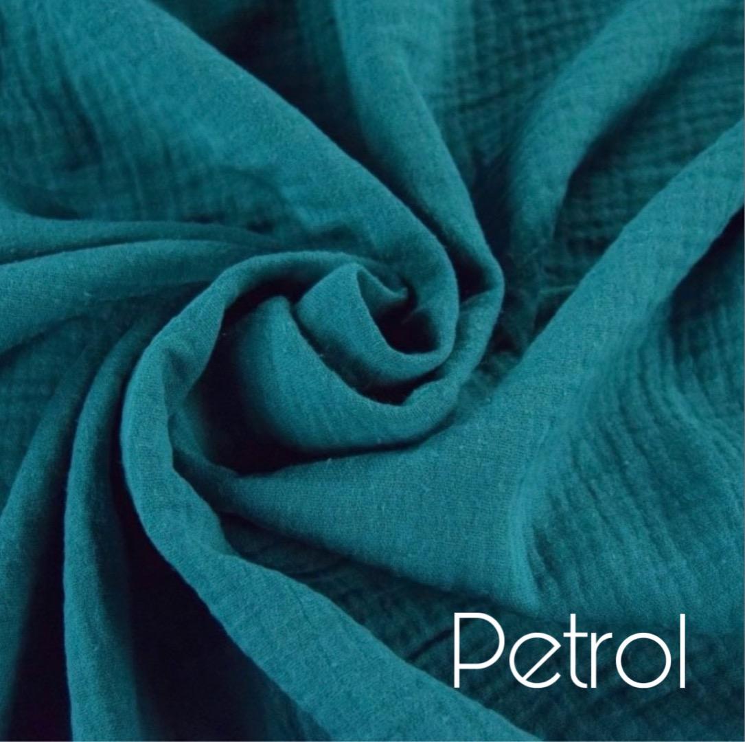 Musselin Decke in Wunschfarbe 10