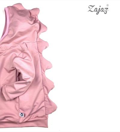 Pullover Drache in Altrosa Zajaz Zajaz