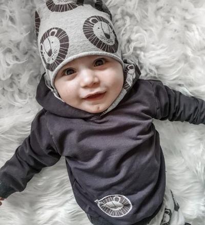 Bio Pullover Löwe Zajaz - Zajaz -einzigartige Kindermode