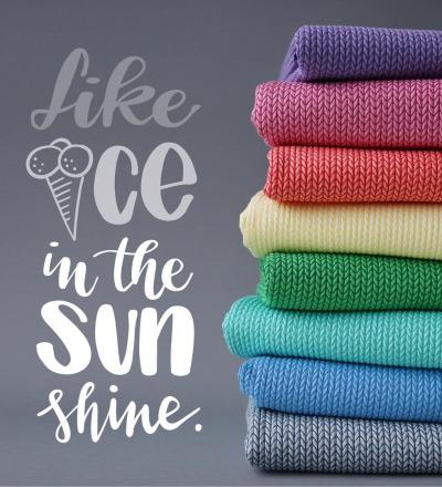 This Summer - Big Knit Knit Grau - This Summer - Big Knit Knit