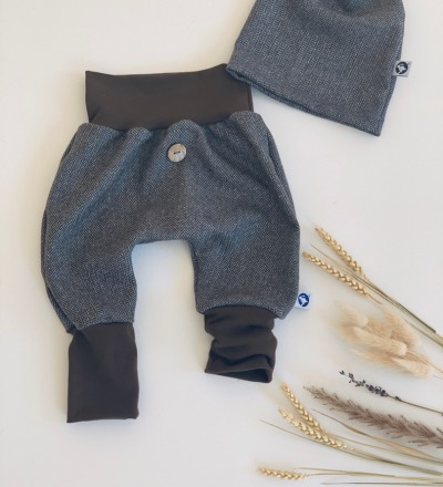 Coole Hose mit mitwachsbündchen