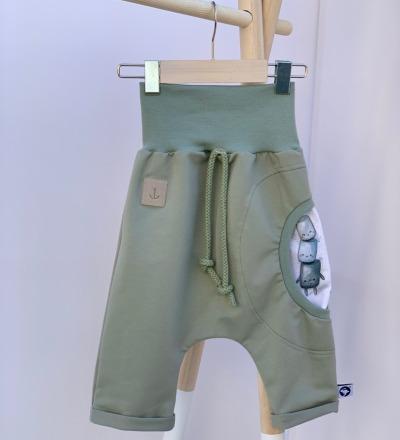 Shorts mit süsse Tasche