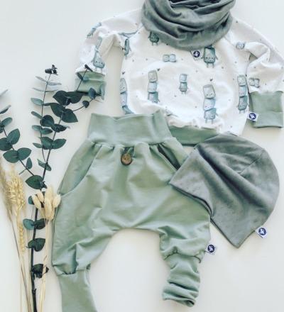 Pullover Marschmallow mit mitwachsbündchen