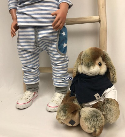 Pumphose mit Sternen-Tasche Zajaz - Zajaz -einzigartige Kindermode