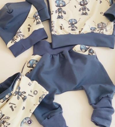Coole Hose mit Taschen und mitwachsbündchen