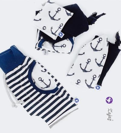 Shorts mit Anker Tasche