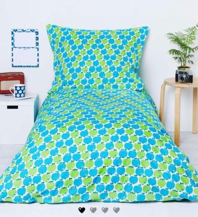 kuschelige Bettwäsche mit den blauen Kult