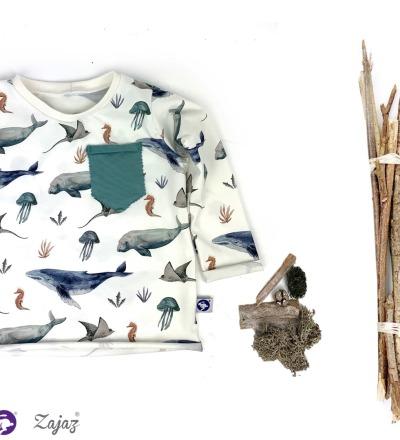 LangarmShirt mit Tasche Zajaz Zajaz