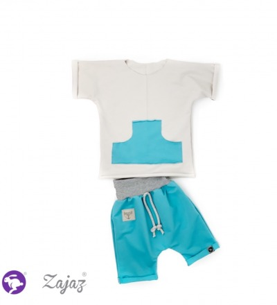 Shorts mit Fuchs Zajaz - Zajaz -einzigartige Kindermode