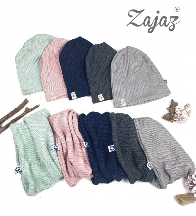 Set Beanie und Loop Strick