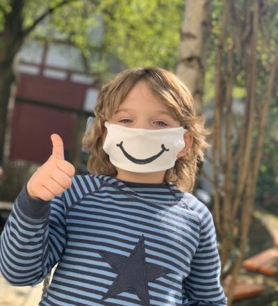 antimikrobiell Mund-und Nase Maske für Kinder