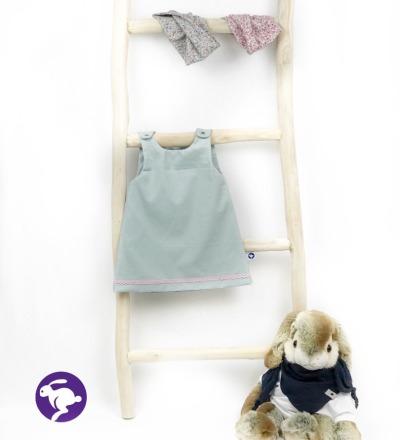 Kleidchen aus Babycord Zajaz Zajaz