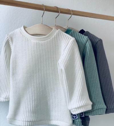 Strick Pullover in wunschfarbe Farbe Creme