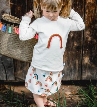LangarmShirt Rainbow Zajaz Zajaz -einzigartige
