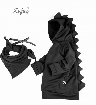 Pullover Drache in Schwarz Zajaz Zajaz