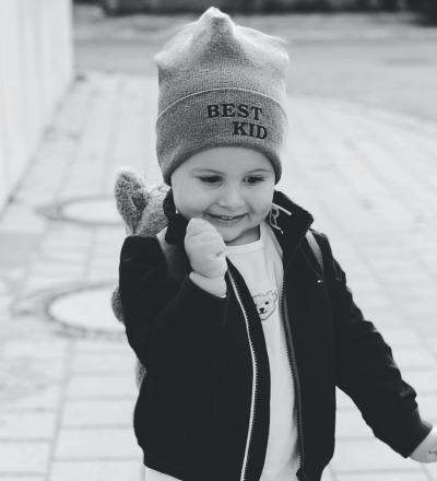Ribb Beanie Best Kid