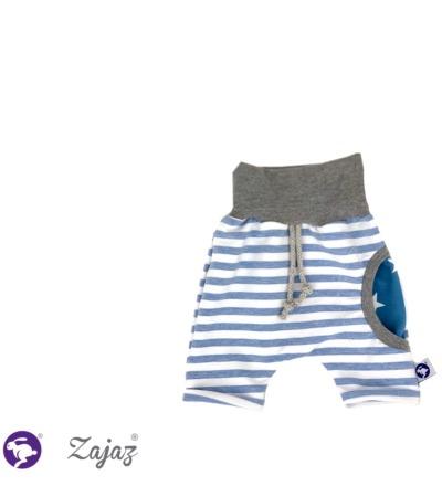 Shorts mit Sternen-Tasche Zajaz - Zajaz -einzigartige Kindermode