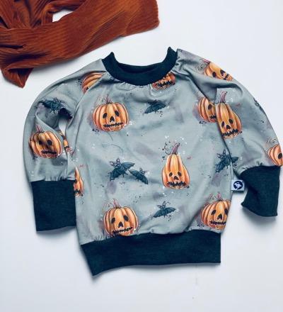 Pullover Helloween mit mitwachsbündchen