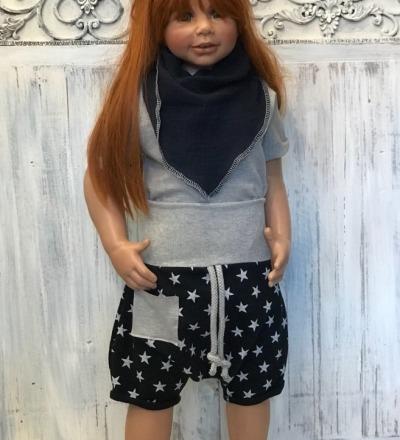 Basic Shorts Anker - Zajaz -einzigartige Kindermode