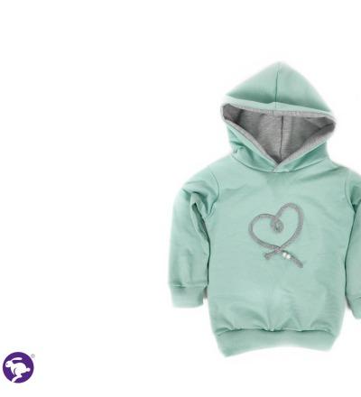 Pullover Herz Zajaz - Zajaz -einzigartige Kindermode