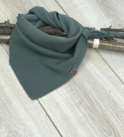 Musselintuch Khaki Zajaz - Zajaz -einzigartige Kindermode