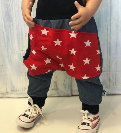 Jeans mit Sternen-Tasche Zajaz Zajaz