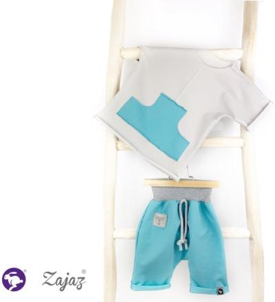 T-Shirt mit Tasche Zajaz Bio - Zajaz -einzigartige Kindermode